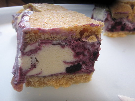 Lemon Ice Cream Sandwiches With Blueberry Swirl Recipe