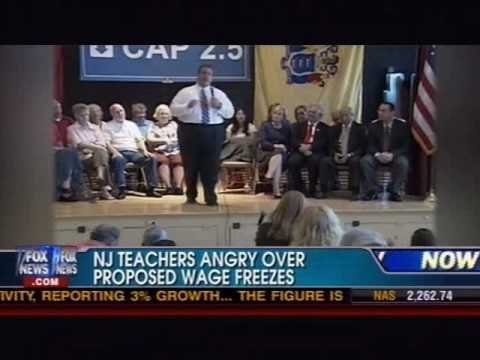 Chris Christie vs. Teacher Unions