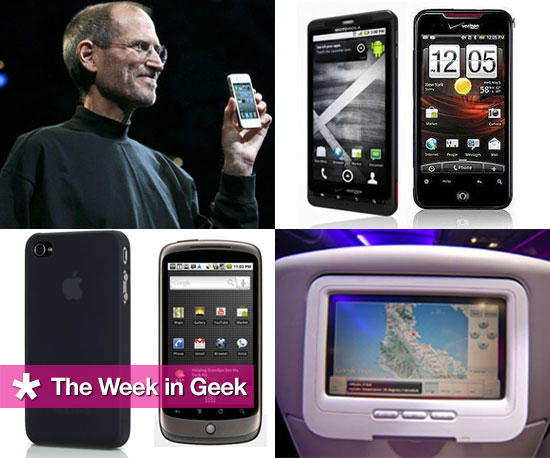Droid Incredible, White iPhone 4, and Droid X News