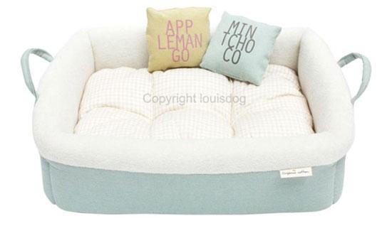 Organic Cotton Dog Bed