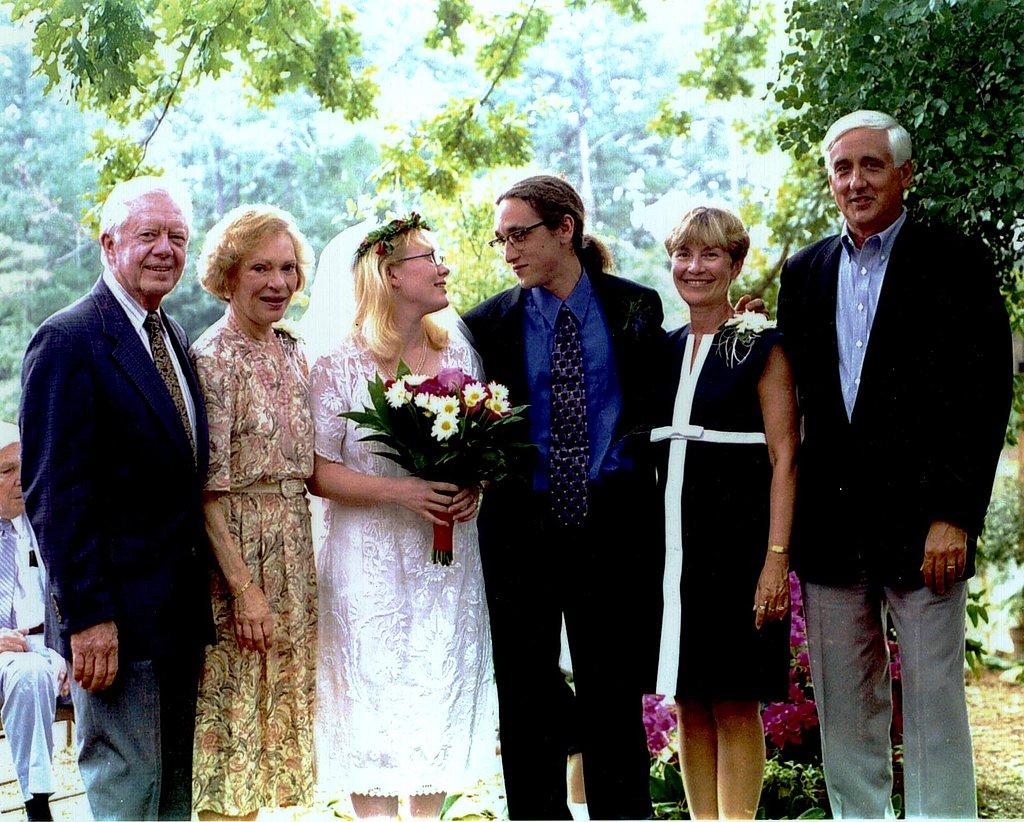 Amy Carter — Sept. 1, 1996
