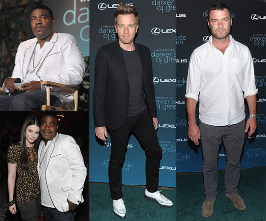 Photos of Liev Schreiber, Rumer Willis, Michelle Trachtenberg, Tracy Morgan and Ewan MacGregor at a Green Debate