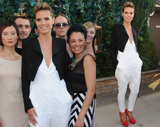 Pictures of Heidi Klum at Project Runway Season 8 Premiere
