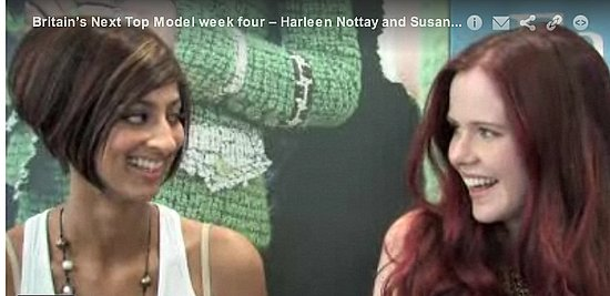 Video Interview with Britain's Next Top Model Evictees Harleen and Susan