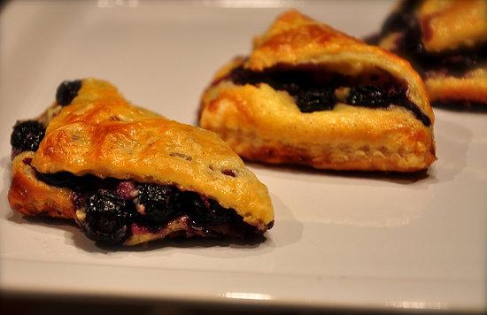Blueberry Cream Cheese Pies