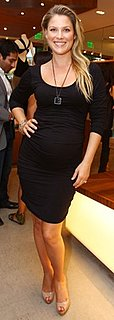 Ali Larter Wearing an Isabella Oliver Maternity Dress