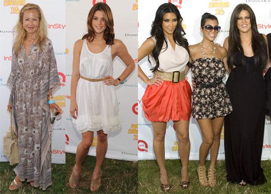 Rachel Zoe, Ashley Greene, the Kardashian Sisters and More at Super Saturday