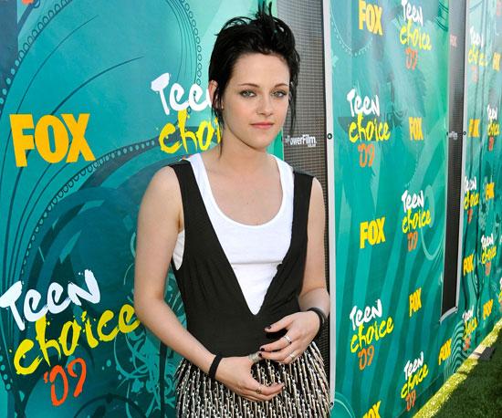 Kristen Stewart rocked the red carpet in 2009.