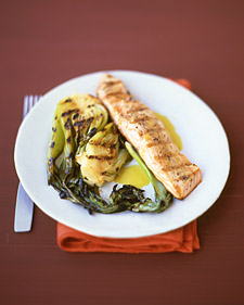 Healthy Recipe For Grilled Salmon With Citrus Sauce