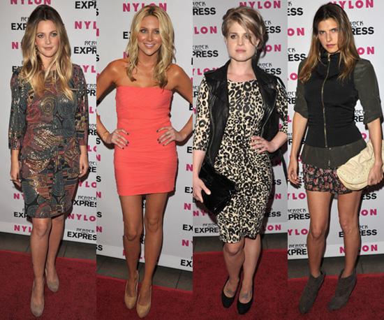 Qui etait la mieux habillee à la soirée jean organisee par le magasine Nylon?