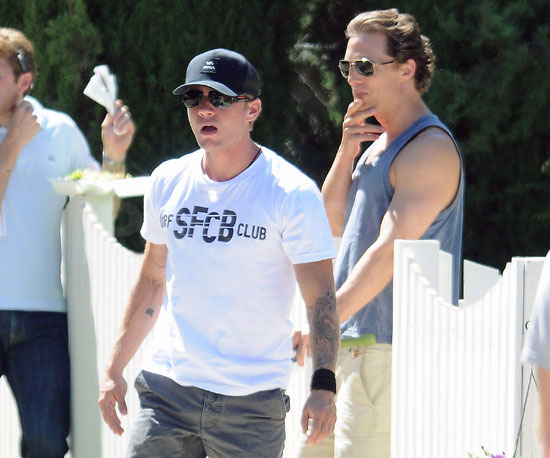 Slide Picture of Ryan Phillippe and Matthew McConaughey