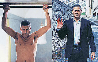 Pictures of George Clooney Shirtless For W Magazine and The American