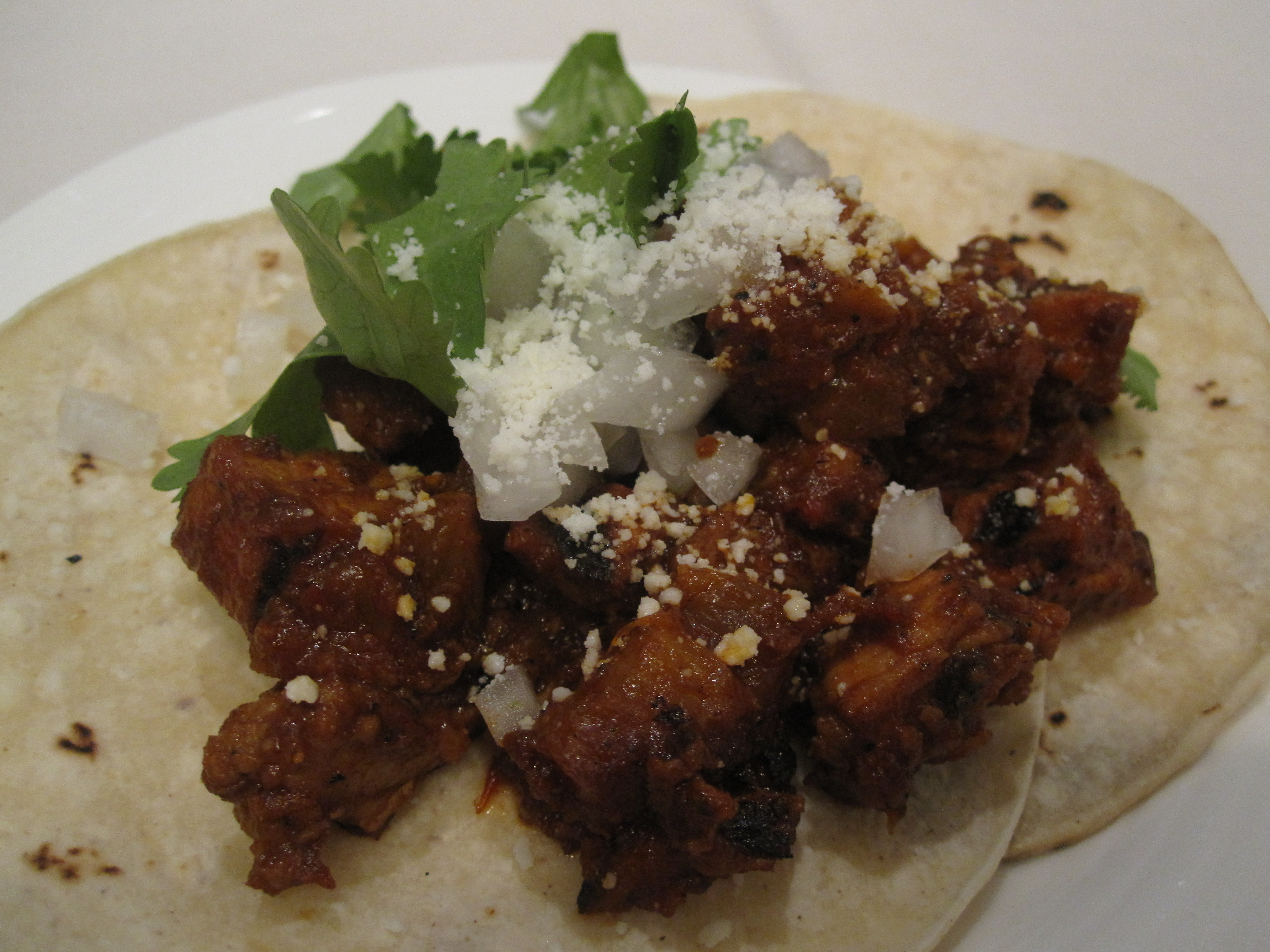 Tacos al pastor: yum! I think I need to make these.