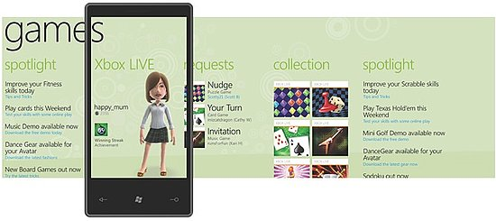 Windows Phone 7 Xbox Live Games Lineup