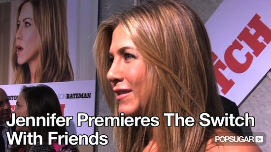 Video of Jennifer Aniston at The Switch Premiere in LA 2010-08-17 11:14:30