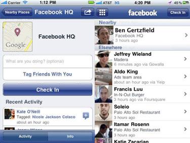 Using Facebook Places