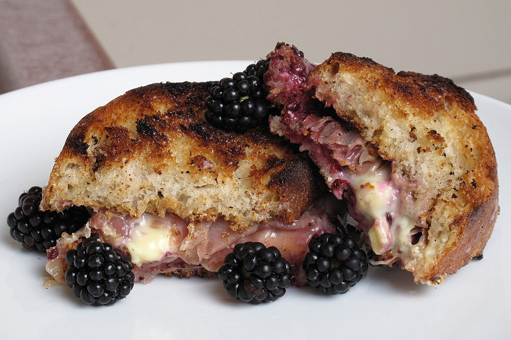 Photo Gallery: Prosciutto and Brie Sandwiches with Blackberry Jam