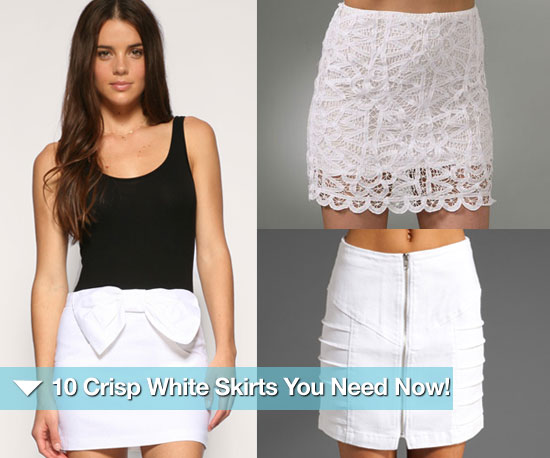 Summer White Skirts