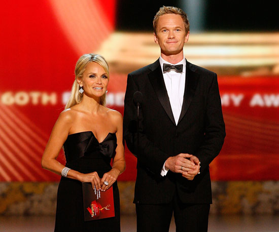 Kristin Chenoweth and Neil Patrick Harris took the stage together in 2008.
