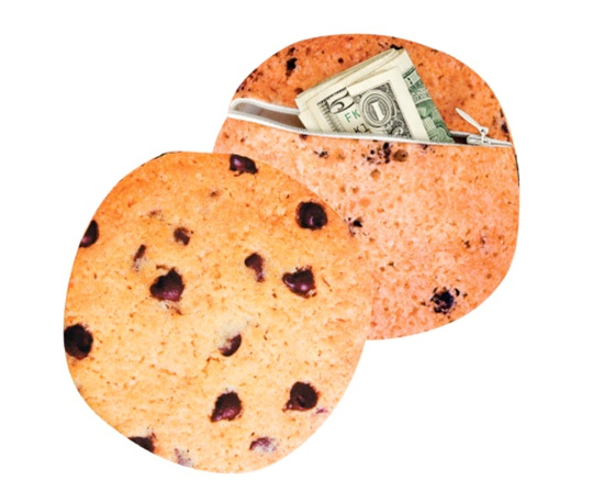 Yummy Pocket Chocolate Chip Cookie Wallet