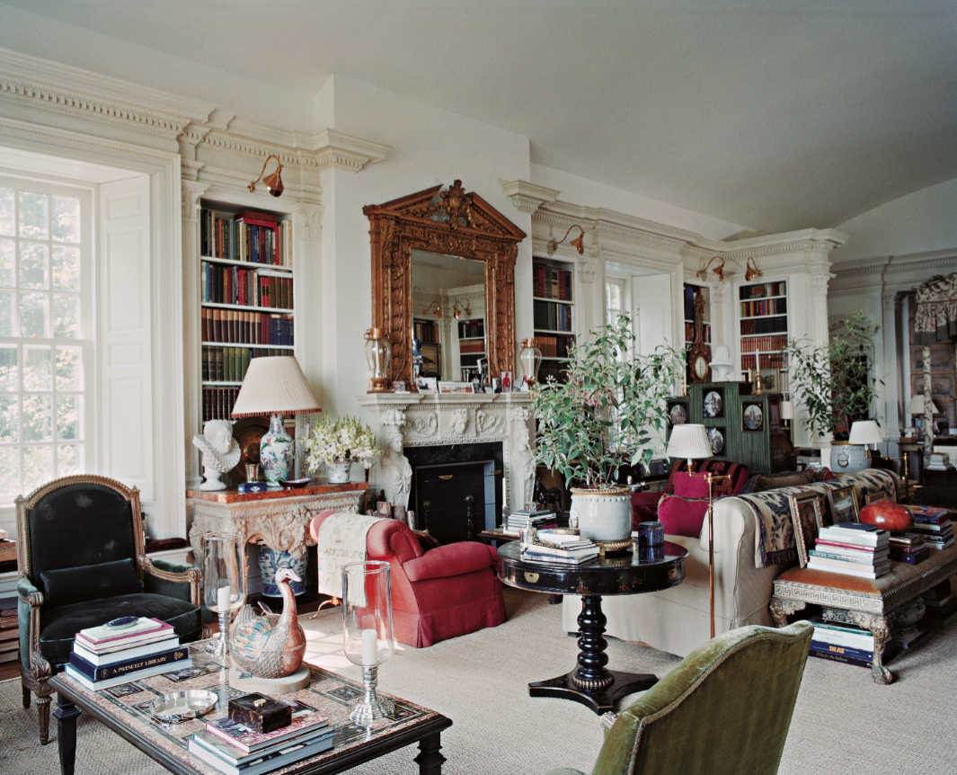 Oscar De La Renta 39 S Home In Kent Connecticut A Look Inside Assouline S Upcoming American