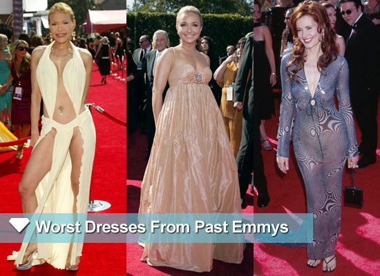 15 of the Worst Dressed at the Emmy Awards Over the Years