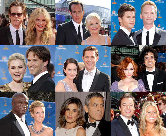 Couples on the 2010 Emmys Red Carpet