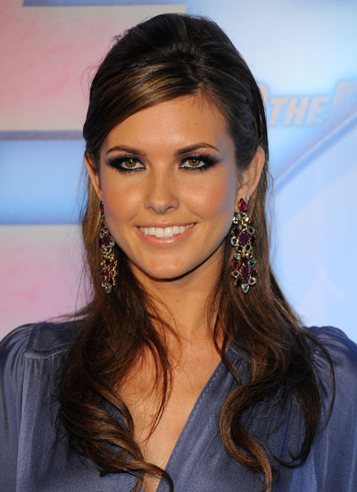 April 2009: Audrina at the Premiere of Into the Blue 2: The Reef