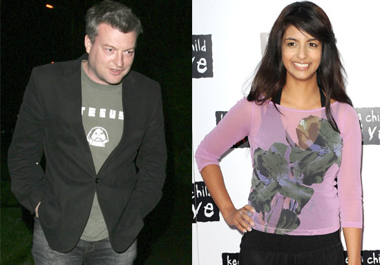 Pictures of Charlie Brooker and Konnie Huq Who Got Married This Weekend in Las Vegas