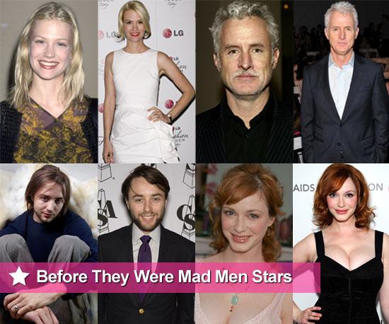 Mad Men cast before they were stars, Including Jon Hamm, January Jones and Christina Hendricks