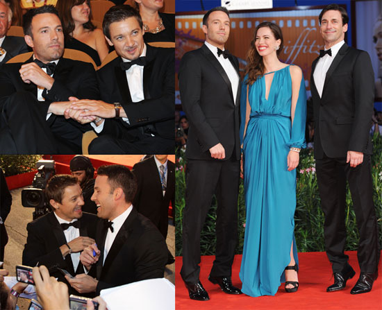Ben Affleck, Rebecca Hall, Jeremy Renner, and Jon Hamm Premiering The Town in Venice 2010-09-08 21:00:50