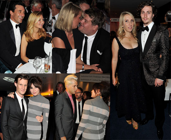 Ed Westwick, Aaron Johnson, James Corden at GQ Men of Year Awards Ceremony and Afterparty 2010-09-08 20:30:10