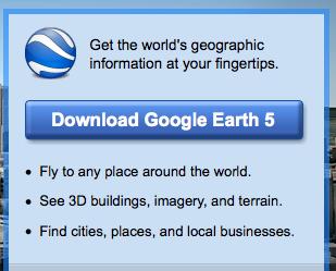 New Google Earth Site