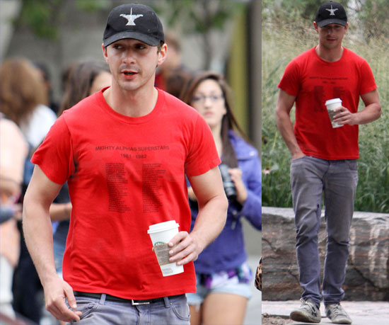Pictures of Shia LaBeouf in Canada For the Toronto Film Festival