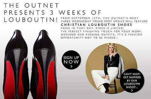 Christian Louboutin Sale at the Outnet