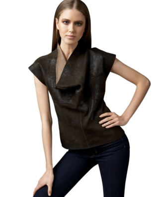 A Leather Shirt
