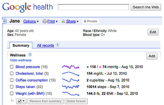 New Google Health Features