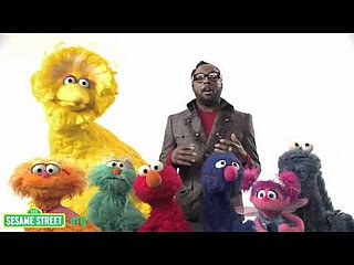 Video: Will.I.Am on Sesame Street