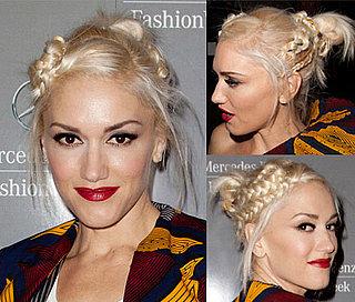 Gwen Stefani's Hair at the LAMB Show During 2011 Spring New York Fashion Week 2010-09-17 10:00:00