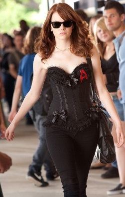Emma Stone's Wardrobe in Easy A