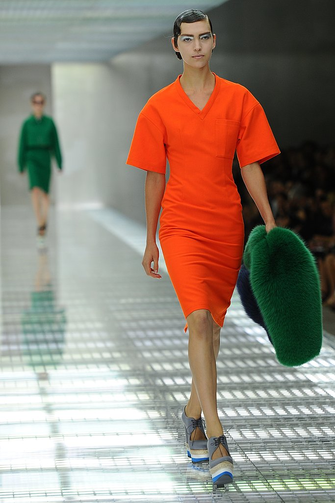 Spring 2011 Milan Fashion Week: Prada