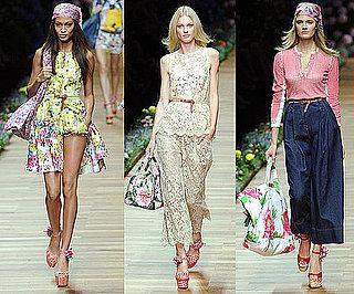 Spring 2011 Milan Fashion Week: Dolce & Gabbana 2010-09-23 15:45:00
