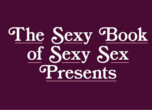 The Sexy Book of Sexy Sex Trailer