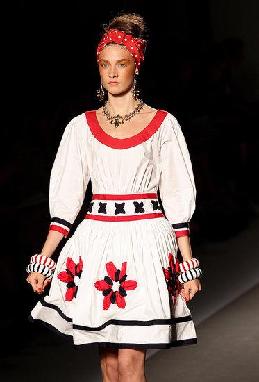 Spring 2011 Milan Fashion Week: Moschino
