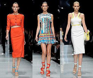 Spring 2011 Milan Fashion Week: Versace 2010-09-24 14:28:06