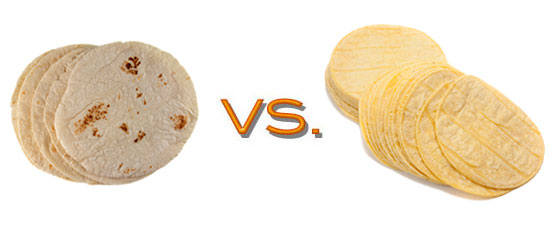 Comparing the Nutritional Value of Corn and Flour Tortillas