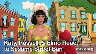 Video of Katy Perry on Sesame Street With Elmo