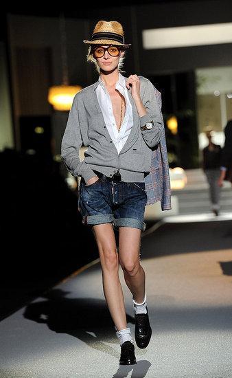 Spring 2011 Milan Fashion Week: Dsquared2