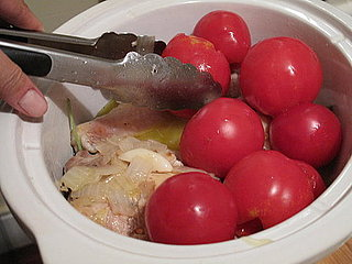 Recipe For Braised Chicken with Summer Tomatoes