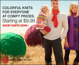 Colorful Knits at Comfy Prices